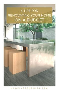 4 ways to save money when you're renovating: when you're looking to renovate a home or office space, your biggest headache will no doubt be the final bill, but there are methods of keeping your costs down whilst still achieving your desired result.