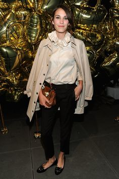 no one can pull off the tomboy style like the amazing alexa chung