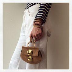 Desert Beige Mini Faye Bag