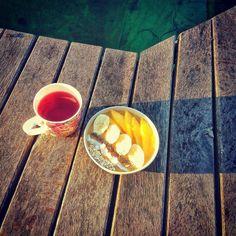 #breakfast #summervibes