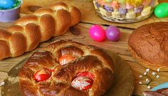 Recipes for Greek Easter bread, Italian Easter bread and Paska