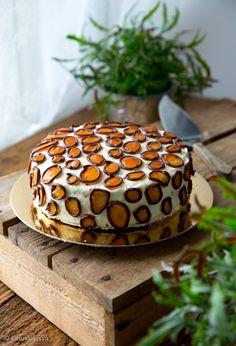 Leopardikakku  #resepti #leivonta #kakku #koristelu #koristeet