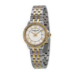 Raymond Weil Tango White Dial Two Tone Stainless Steel Ladies Watch 5391-STP-00308 >>> Check this awesome product by going to the link at the image.