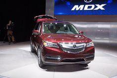 2014 Acura MDX live photos: 2013 New York Auto Show