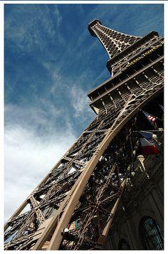 Eiffel Tower, Las Vegas.....love this view!