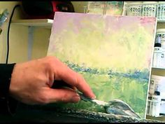Video #tutorial > Acrylic painting with a palette knife and towel - by Bob Pennycook http://bobpennycook.com/tag/painting-with-texture/ #techniques