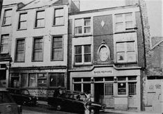Buildings at the bottom of Barrack Street in 1974 shortly before they were demolished Cork City Ireland, Historical Society, Old Photos, Buildings, Street View, Thoughts, Painting, Sun, Tattoo