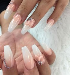 attractive acrylic coffin nails you should try this fall . - attractive acrylic coffin nails you should try this fall – nails – # Acrylic coffin nails # - Diy Nails Manicure, 3d Nails, Coffin Nails, 3d Nail Art, Gel Nail, Acrylic Nails Natural, Cute Acrylic Nails, 3d Flower Nails, Rose Nails