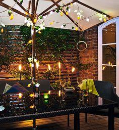 velada Garden Living, Terrace, Table Decorations, Summer, Home Decor, Style, Gardens, Al Fresco Dinner, Summer Decorating