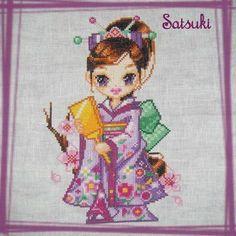 Satsuki, charmante maïko ...