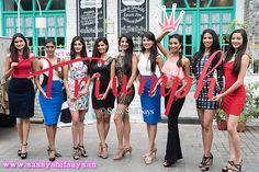 Triumph International Brand New Logo Design with Femina Miss India Finalist