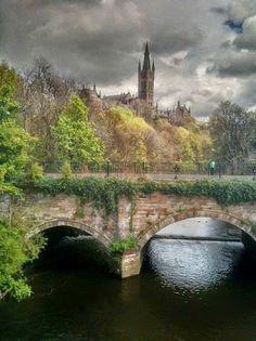 Google+Глазго. Шотландия