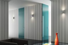 Εσωτερική πόρτα Acacia Divider, Catalog, Blue And White, Curtains, Room, Furniture, Home Decor, Bedroom, Blinds