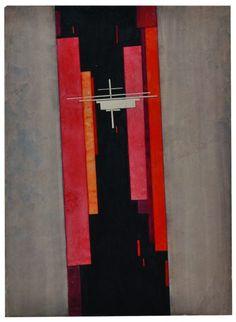 Suprematist Composition by Ilya Chasnik 1925