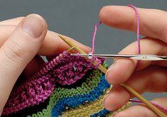 Receita de Tricô: Como colocar miçangas no tricô