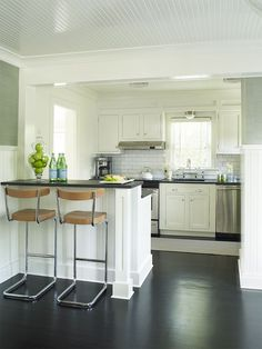 kitchen by Gregory Shano Interiors