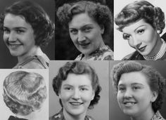 Curled and Waved Short Hair  Shorter hairstyles were popular with the young and old alike and hair could be worn in a variety of ways, but it would always feature soft waves and/or curls.