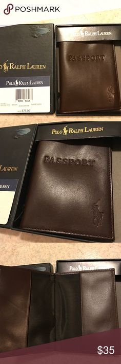 Polo Ralph Lauren Men Leather Wallet Passport Case 100% authentic and brand new. $75 original price. The price tag is still attached. Big sale here! ♡Unlike other sellers who would raise the price and ask you to make an offer, I set the price way below the original price for a fast and easy Buy It Now transaction here. That's your biggest discount! And if you still want to save a bit more, simply check out my other listings for a bundled sale. Thank you and have a great weekend! Ralph Lauren…