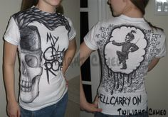 My Chemical Romance Shirt by ~Twilight-Cameo on deviantART