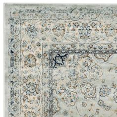 Persian Garden Vintage Light Blue Ivory 5 Ft 1 In X 7 Area Rug