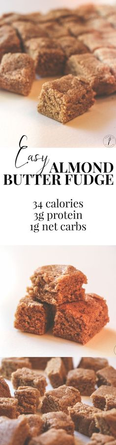 I make this recipe ALL THE TIME. I always keep a batch on hand as a convenient healthy snack, plus it has a great protein to calorie ratio. Warning: this fudge is super addictive!! Low Calorie Desserts, Clean Eating Desserts, Healthy Desserts, Low Carb Recipes, Whole Food Recipes, Ketosis Desserts, Paleo Sweets, Protein Recipes, Top Recipes