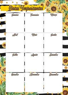 Agenda Planner, Blog Planner, Weekly Planner, Planner Template, Printable Planner, Bullet Journal 2, School Planner, Diy Calendar, Bujo