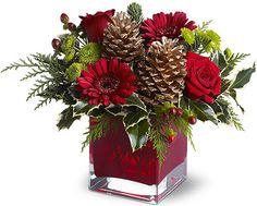 teleflora christmas arrangements - Bing Images