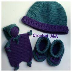 Doudou, bonnet et chausson