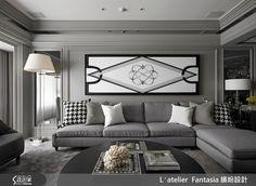 新古典的裝潢圖片為L′atelier Fantasia 繽紛設計的設計作品,該設計案例是一間新成屋(5年以下)總坪數為41,格局為三房,更多L′atelier Fantasia 繽紛設計設計案例作品都在設計家 Searchome