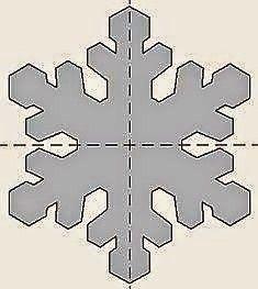 Dycas da Carla: Diy: Floco de Neve Feito com EVA