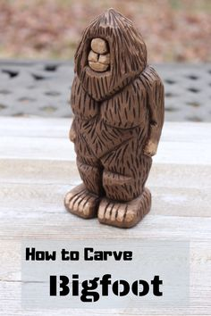 This tutorial will show you how I carved Bigfoot. A fun weekend project you'll be proud to make. I made the carving with Basswood and used three carving knives. The tutorial will show you my process. Hope you enjoy making this project. Awesome Woodworking Ideas, Best Woodworking Tools, Japanese Woodworking, Woodworking Patterns, Custom Woodworking, Woodworking Projects, Woodworking Bench, Woodworking Beginner, Woodworking Organization
