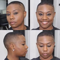 813 Likes, 15 Comments - DreamCutsBarberLounge / Tarik ( . Short Fade Haircut, Short Sassy Haircuts, Short Black Hairstyles, Twa Haircuts, Edgy Hairstyles, Medium Hairstyles, Wedding Hairstyles, Natural Hair Short Cuts, Short Hair Cuts
