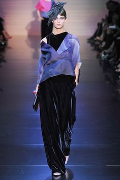 Armani prive fall couture 2012 - via @kennymilano
