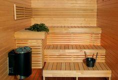 Thank's For Sharing This Post Top Decor Luxury Sauna Room Interior Design. Modern Saunas, Sauna A Vapor, Dry Sauna, Steam Sauna, Quonset Homes, Log Homes, Sauna Seca, Sauna Design, Fluorescent Lamp