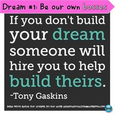 Dare to Dream 1: Be our own bosses! Read more about our dreams on our blog! #TPTsellerchallenge #watsonworksedu #teachersfollowteachers