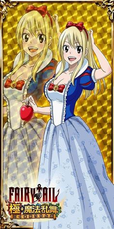 Snow White with the Blonde Hair by on DeviantArt Anime Fairy Tail, Fairy Tail Girls, Fairy Tail Art, Fairy Tail Couples, Fairy Tail Ships, Fairy Tales, Nalu, Fairytail, Fairy Tail Erza Scarlet