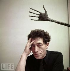 """Basically, I no longer work for anything but the sensation I have while working"" - Alberto Giacometti"
