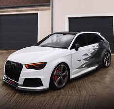 Audi A3 Sportback, Audi Rs3, Usa Code, Code Code, Tuner Cars, Car Wallpapers, Custom Cars, Cars And Motorcycles, Luxury Cars
