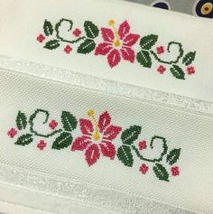 Wedding Cross Stitch, Beaded Cross Stitch, Cross Stitch Flowers, Hand Embroidery Design Patterns, Flower Embroidery Designs, Cross Stitch Designs, Cross Stitch Patterns, Crochet Bedspread, Baby Knitting Patterns