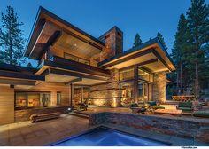 JMC, Jim Morrison Construction, Ryan Group Architects, Nor Cal Floors Custom Home Builders, Custom Homes, Amazing Architecture, Architecture Details, Hollywood Homes, House Deck, Modern Patio, Dream House Exterior, Architect House