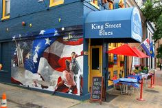 Patriotic Mural - Alexandria, Virginia - Daily Photo
