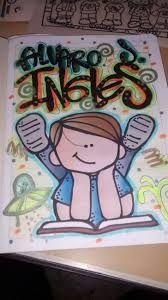 Imagen relacionada Page Borders Design, Border Design, Spanish Posters, Daily Journal, Notebook, Notes, Lettering, School Ideas, Artist