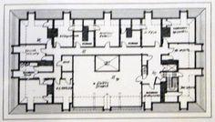 Vernon Court third floor plan.