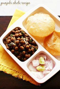 chana masala recipe - delicious and tasty punjabi chole recipe with step by step photos.  #chana #chole