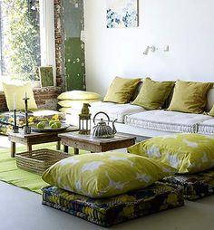 Large floor pillows diy