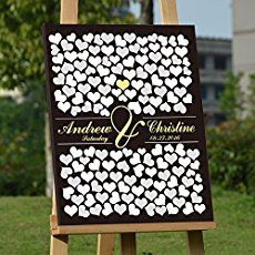 [tps_header]Creating a guest book that is personal to you will make it even more special every time you see it. Pulling out the guest book on your anniversary will remind you of just how perfect the day was and how yo...