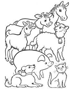 40 Fantastiche Immagini Su Disegni Fattoria Ed Animali Fattoria