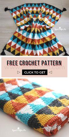 C2c Crochet, Manta Crochet, Baby Blanket Crochet, Crochet Baby, Free Crochet, Crochet Owls, Crochet Animals, Boho Crochet Patterns, Baby Knitting Patterns