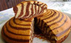 "Торта ""Зебра"" Torta Zebra, Cake Recipes, Dessert Recipes, Desserts, Amazing Cakes, Food Art, Sweet Tooth, Easy Meals, Brunch"