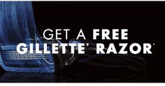 Hurry! Get an awesome Free Gillette Men's Razor - http://couponsdowork.com/freebies-giveaways/hurry-get-an-awesome-free-gillette-mens-razor/